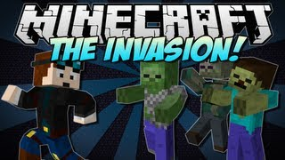 Minecraft | THE INVASION! (The End of the World?!) | Mod Showcase [1.5.1]