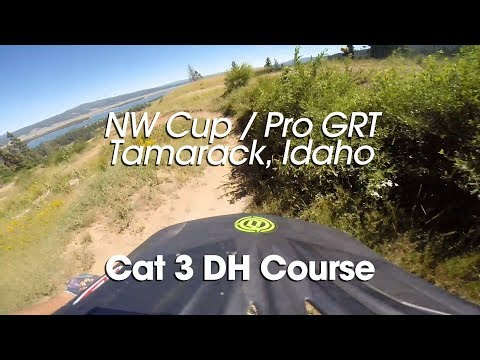 Course Preview - Cat 3 DH - NW Cup / Pro GRT Tamarack, Idaho