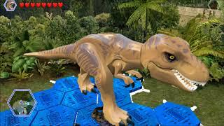Lego Jurassic World. The Worker in Peril. Safari Plains, Jurassic World.