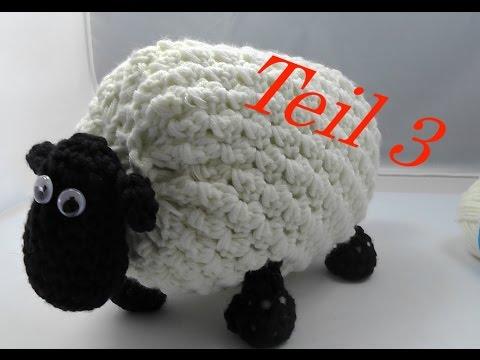 SHIRLEY von SHAUN das Schaf Häkeln mit Veronika Hug - Teil 3 Kopf ...