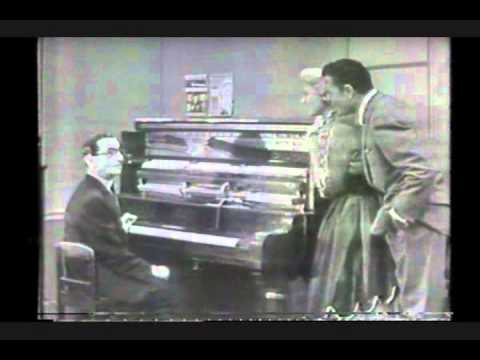 Irving Berlin- On Television (very RARE Clip)