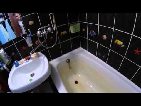 Очищаем ванну после марганцовки