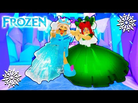 ELSA & ANNA MORNING ROUTINE IN ROYALE HIGH SCHOOL! ❄ Roblox Roleplay | A Frozen Story | Roblox Movie
