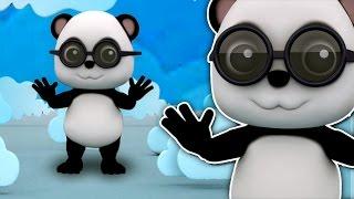 Голова Плечо | Бао Panda | Учебное видео | детскую песенку(Голова Плечи, Популярные ролики для детей. «Учиться и петь