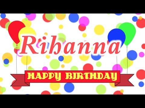 Happy Birthday Rihanna Song