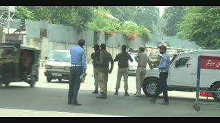 Traffic Police Drvie at Srinagar