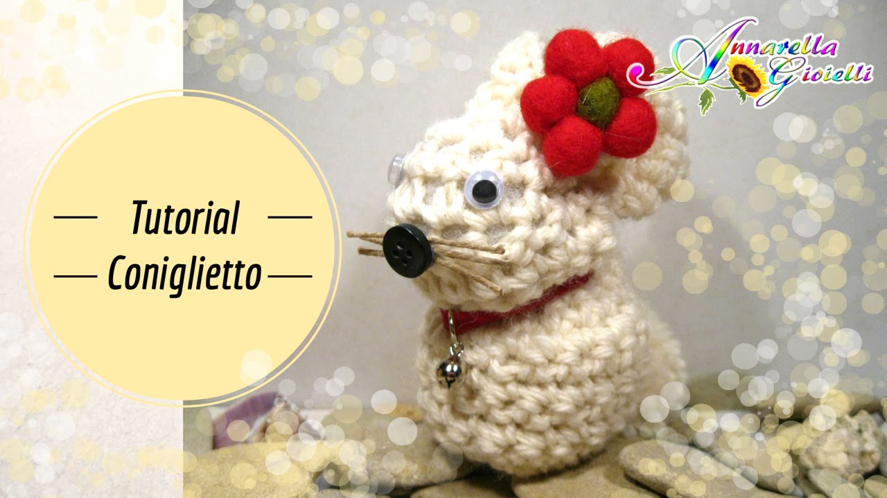 Tutorial Amigurumi Annarellagioielli : Tutorial coniglietto di pasqua all uncinetto how to crochet