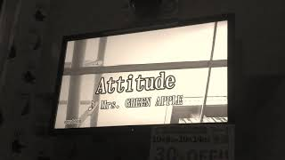 attitude Mrs.GREEN APPLE  カラオケ 歌ってみた Mrs.Green Apple ミセス アルバム ※イヤホンで聴いてもらいたいです!!