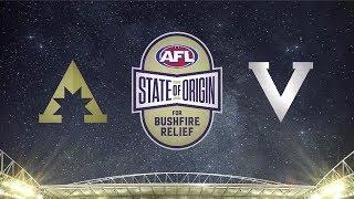 Squads Revealed: State Of Origin For Bushfire Relief   Victoria V All-stars   2020   Afl