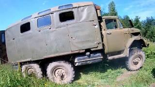 ЗИЛ 131 по грязи на рыбалку Битинский прорыв 2 0 Пссковская область