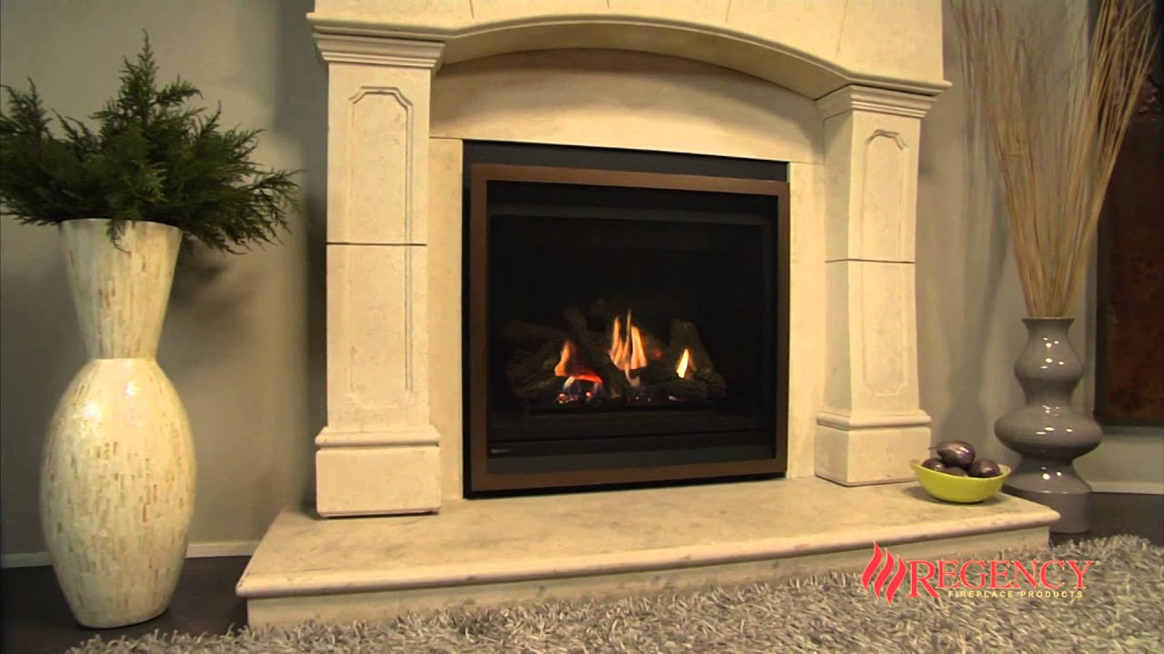 This deluxe 36 inch fireplace features all of the quality construction