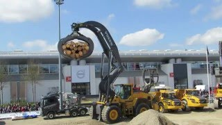 Volvo Construction Equipment Display Bauma 2016 - Part 1 - Messe München Germany