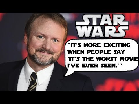 RARE Old Video of Rian Johnson Revealing his plan for Movie Making