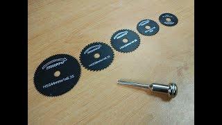 Обзор и тест набора круговых фрез по металлу. Покупка из Китая.