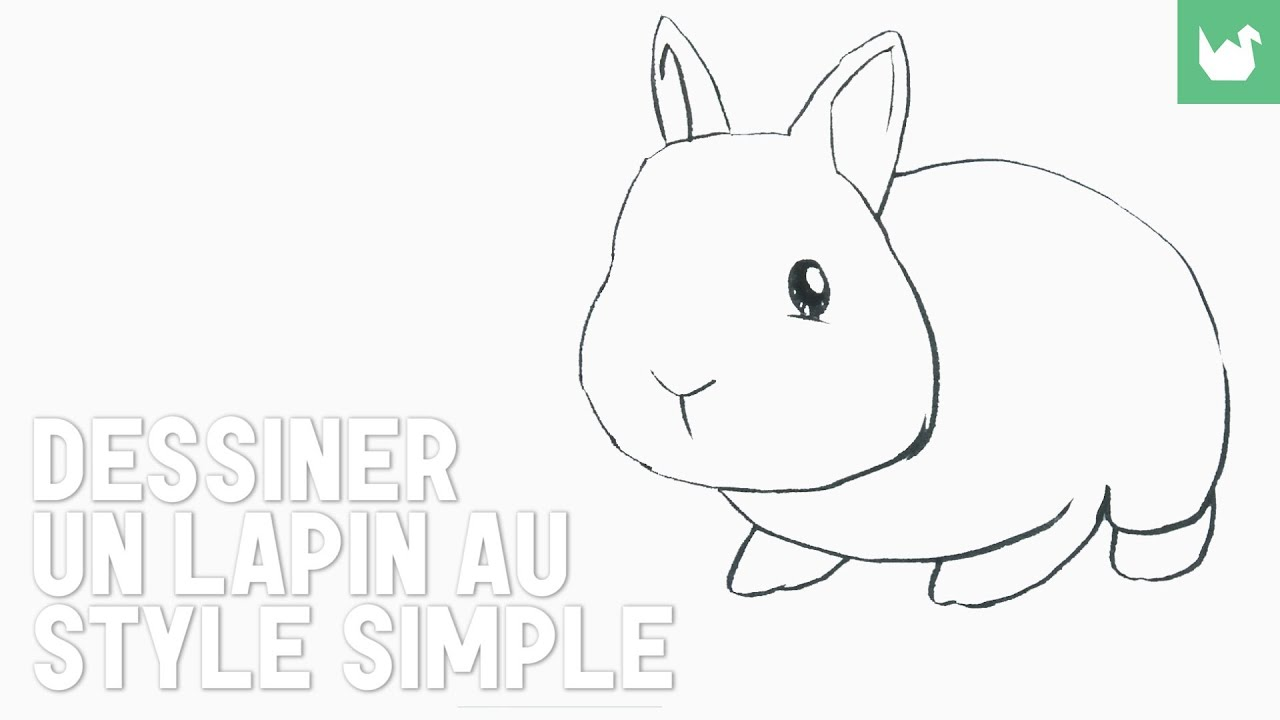 Lapin simplifi youtube - Dessin facile d animaux ...