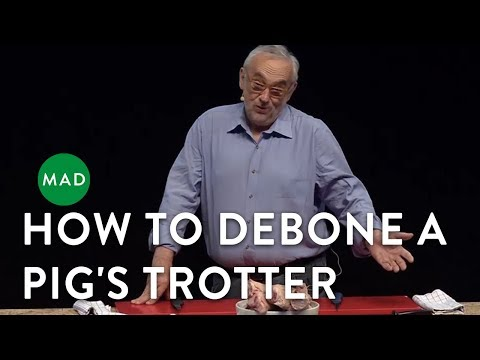 How to Debone a Pig's Trotter | Pierre Koffmann