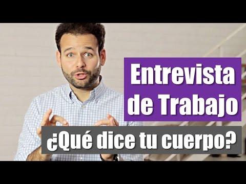 Lenguaje Corporal: Entrevista de Trabajo Exitosa