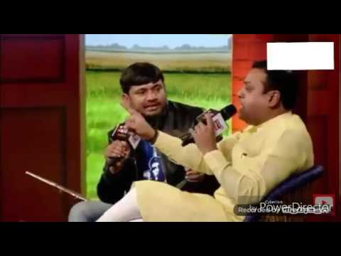 Kanhaiya Kumar exposed Sambit Patra on National Television