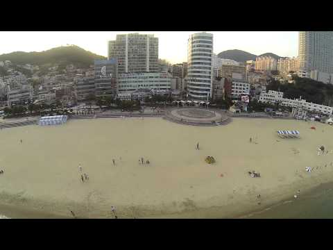 Songdo beach,Busan Korea with phantom2
