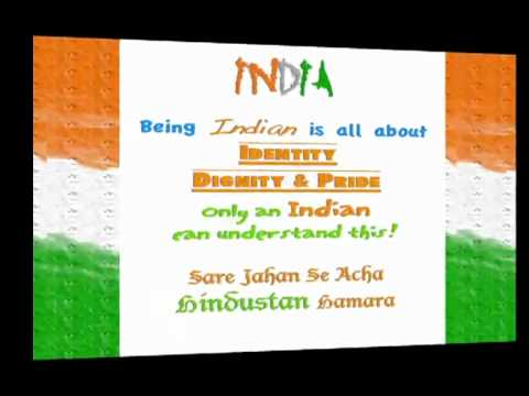 what is sare jahan se acha in hindi Song: saare jahaan se achcha - an indian patriotic song hindi:  saare jahaan se achcha hindustan hamaara hamaara g2 g2r s r n s s p ds rg m g g r m grs hum bulbule(n) hai(n) uski woh gullsitaan hamaara hamaara g m p p p g mdp g m mn2pm g2 r s s s s ndp  charanam 1.