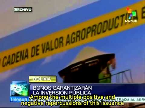 Bolivian private sector approves government bond issue