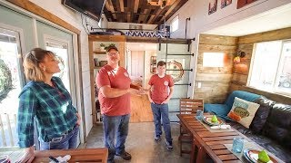Video Family Builds Amazing DIY 5th Wheel Tiny House With Expanding Slides! download MP3, 3GP, MP4, WEBM, AVI, FLV Juni 2018