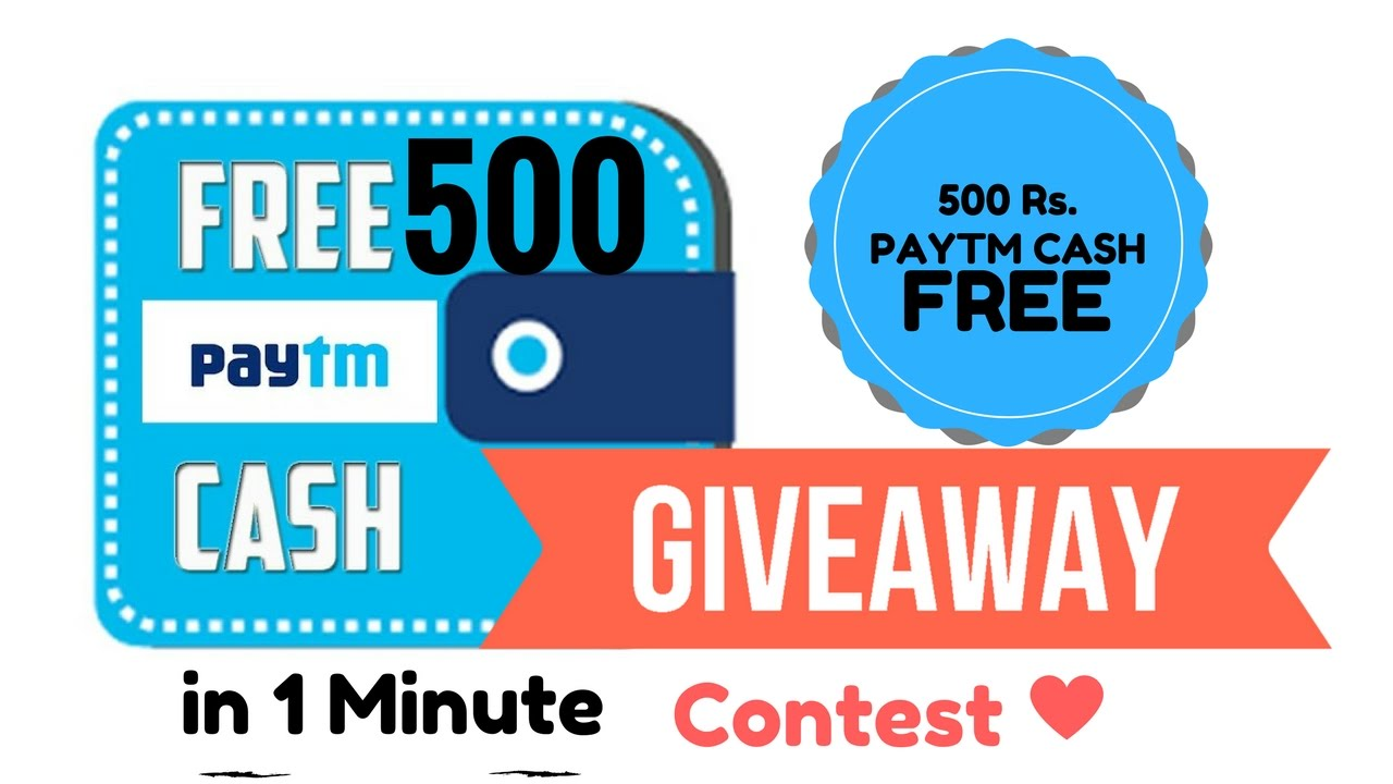 Image result for Paytm Cash Giveaway