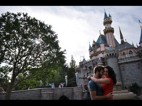 Disneyland Flashmob Proposal One Word Per Year Story Youtube