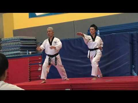 Koryo from the Kukkiwon International Master Course & Examiner