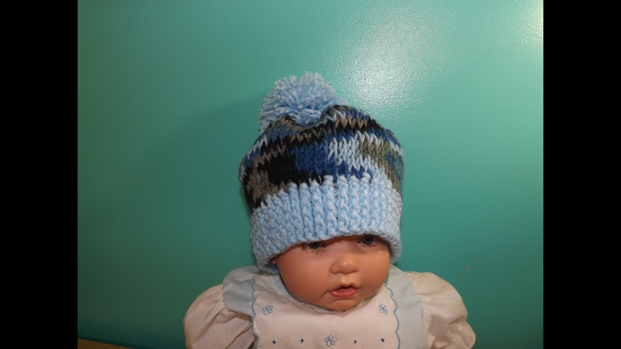 Easy Tunisian Crochet Baby S Hat With Ruby Stedman Youtube