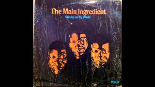 the main ingredient- let me prove my love to you