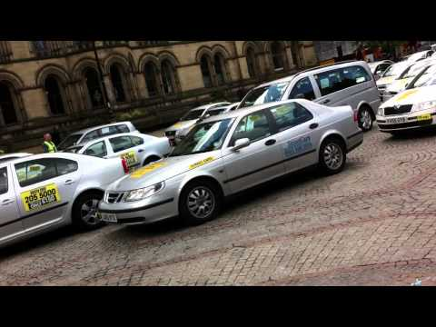 Taxi Rage In Manchester Albert Square