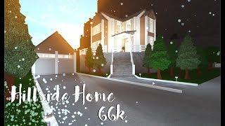 ROBLOX   Bloxburg Hillside Home