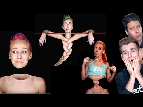 Make Up Artist Creates Master Illusions (Unbelievable)