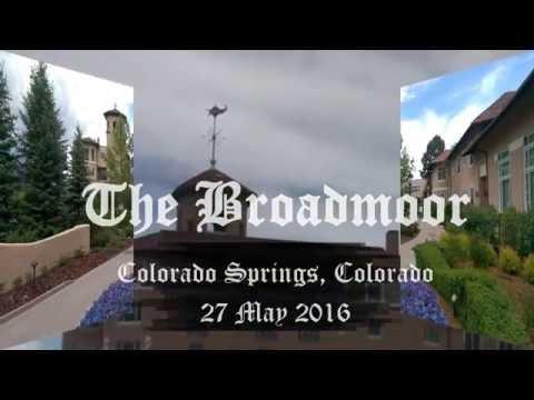 The Broadmoor, Colorado Springs, Colorado, 27 May 2016