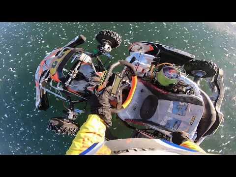 KZ-2 CRG Ice Kart 125сс Gennady Novichkov