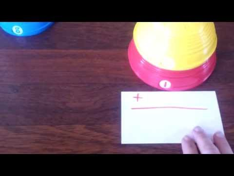 Math With Fisher Price Stacking Cups