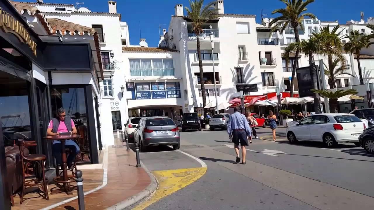Puerto Ban S Marbella Costa Del Sol Espa A 2016 Youtube