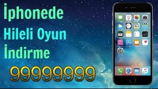 İphona Hileli Oyun İndirme Ücretsiz / 2017 / İphone Fraudulent Game Download
