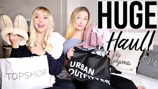 Huge Clothing Haul with Alisha Marie | Urban Outfitters, Free People, Topshop!