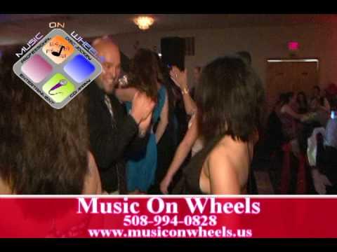 Music On Wheels Pete and Tammy Disc Jockey Wedding New Bedford