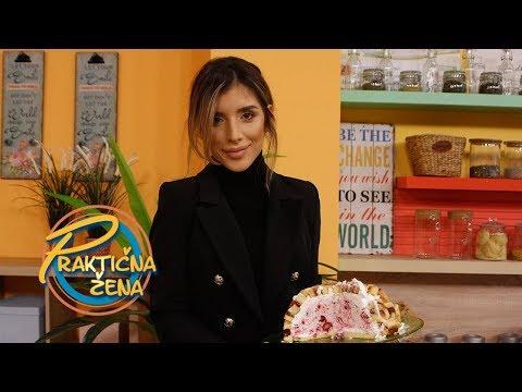 Praktična žena - Jovana Pajić – Torta od rolata sa džemom i malinama