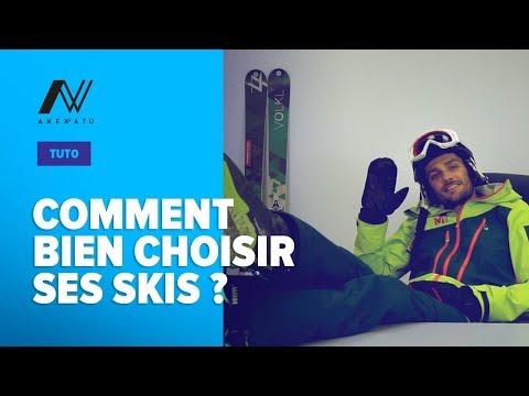 Avis rocker talon et spatule ski