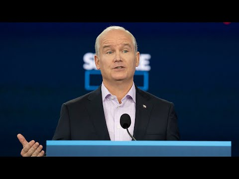 Sept. 1: Conservative Leader Erin O'Toole on infrastructure
