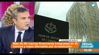 Entrevista a Vicente Morató sobre Cláusulas Suelo en Madrid Despierta