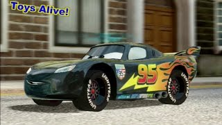 Cars 2 Game Play - Carbon fiber Lightning McQueen in London