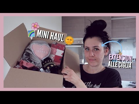 EXTENSION ALLE CIGLIA + MINI HAUL | VLOG 14-22/06/2017