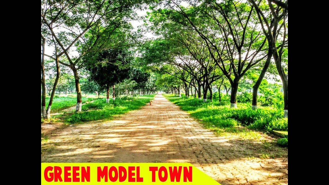green model town demra