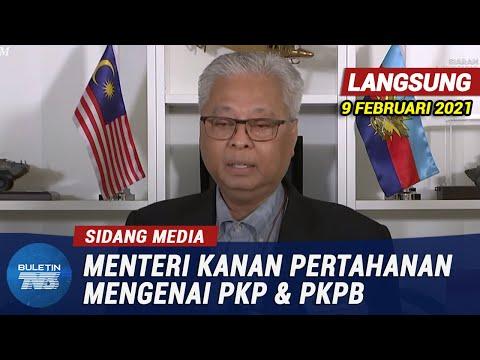 [PENUH] Sidang Media Menteri Kanan Pertahanan Mengenai PKP & PKPB | 9 Februari 2021