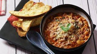 Tomato Macaroni Pasta Soup | Macaroni Pasta Recipe in Tomato Soup By Kamini | Monsoon Special Soup